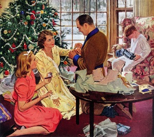 "Christmas traditions: the ""modern"" family model"