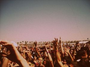 Music brings people together...and I'm not just talking music festivals