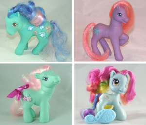 My Little Ponies have changed a lot over the years... yet they are still just as awesome (if not awesomer) than ever