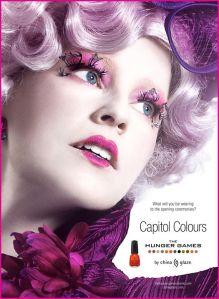 Hunger Games: selling you nail polish?