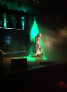 Blush performing at the Femme Party, Schwuz