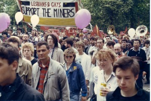Real-life Pride March, 1985