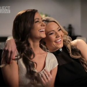 Sam Frost and Lisa Hyde 4EVA