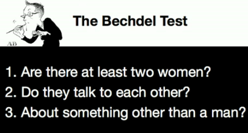 Image result for bechdel test