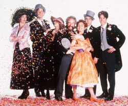 True fact: Four Weddings was nominated for an Oscar for best picture (and lost to Forrest Gump)