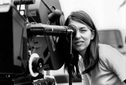 Sophia Coppola directing (also starred in Godfather: part 3...)
