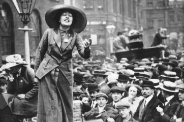 an analysis of emmeline pankhursts fight for the rights of women in britain A newly discovered telegram in melbourne shows the depth of the rift between british suffragette emmeline pankhurst and daughter adela (pictured) the pankhursts were vocal about women's rights and at times got themselves in trouble with good morning britain viewers attack dr hilary.